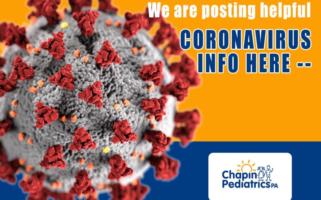Coronavirus Information Sheet
