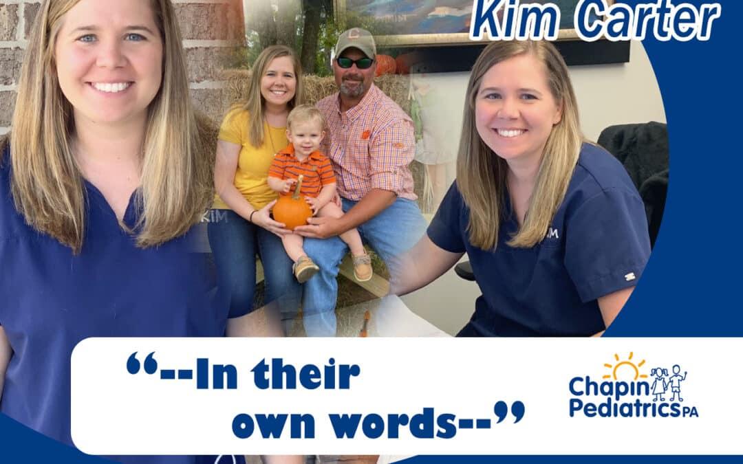 Meet Kim Carter