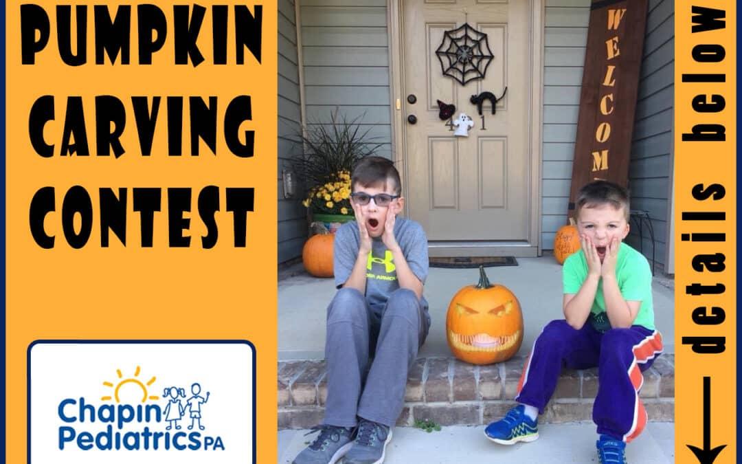 Chapin Pediatrics Pumpkin Carving Contest