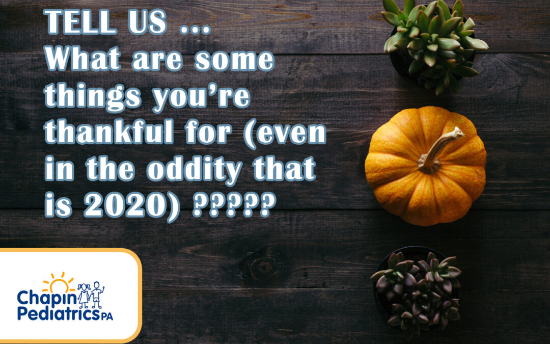 What Are You Thankful For???