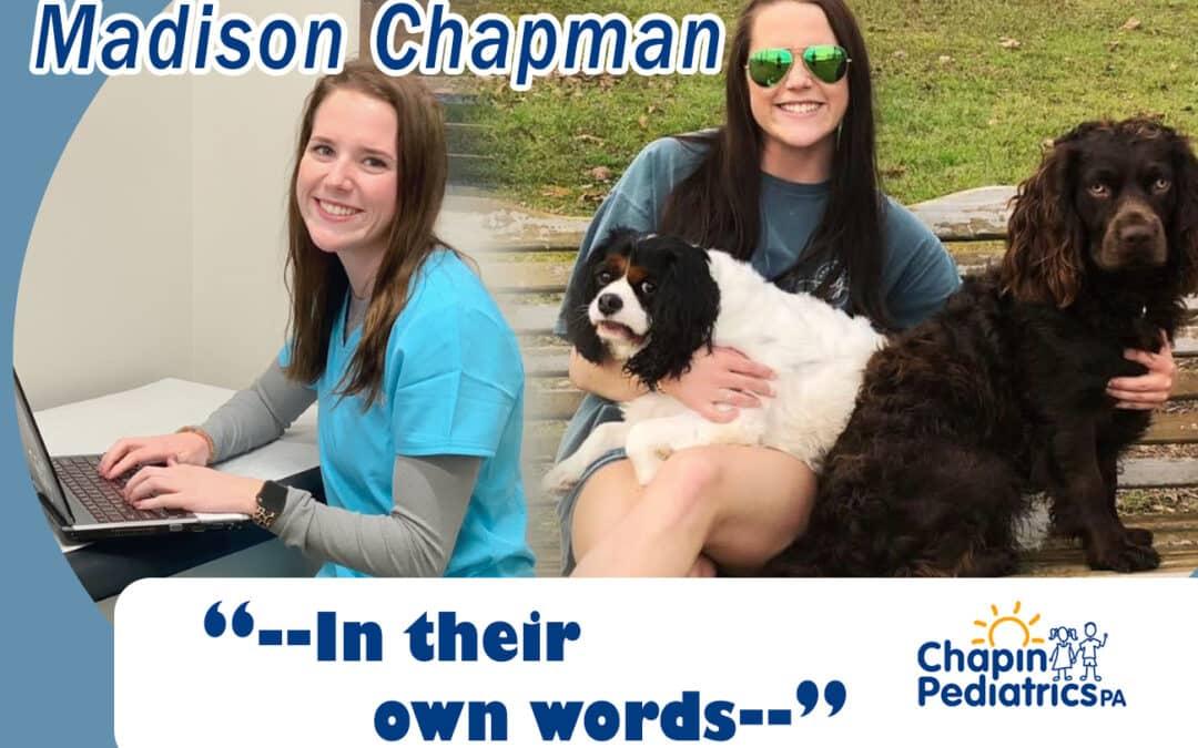 Staff Member – Madison Chapman