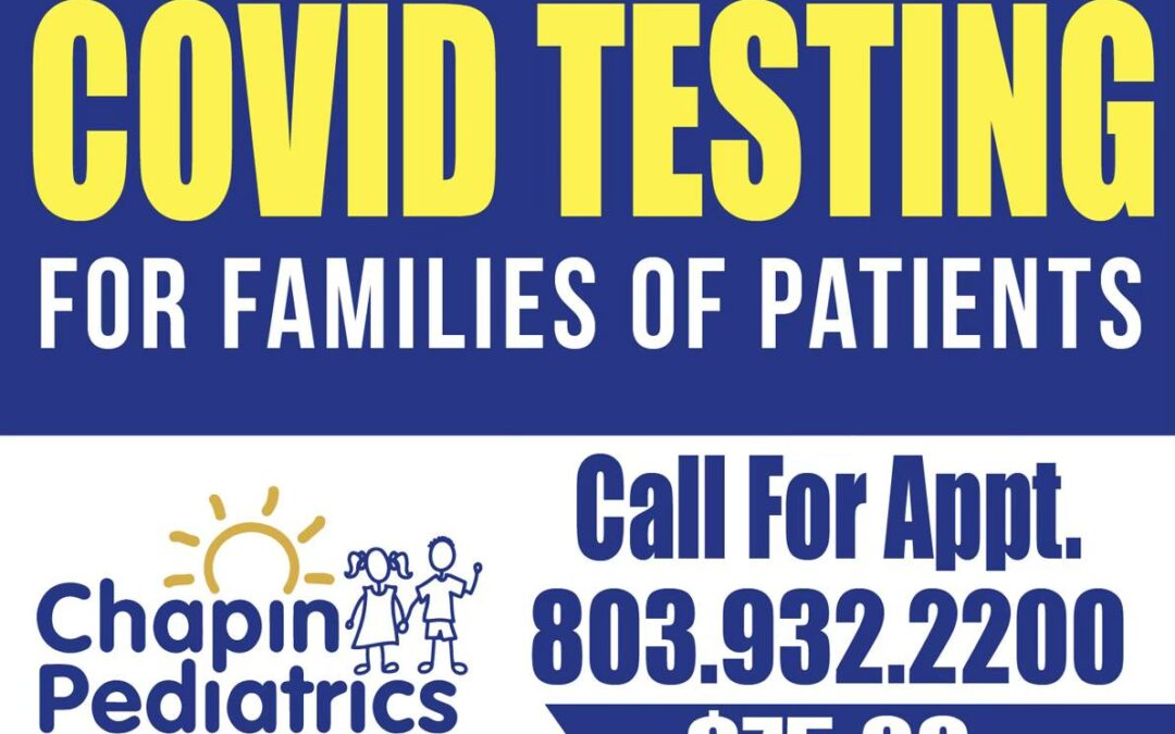 COVID Testing for all Family Members – Testing Now Fully Available